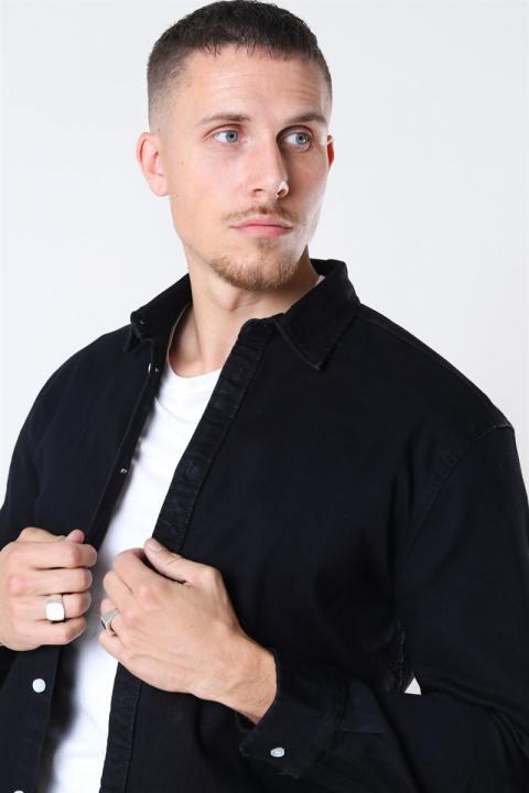 Denim Project Lenny Denim Skjorte Black