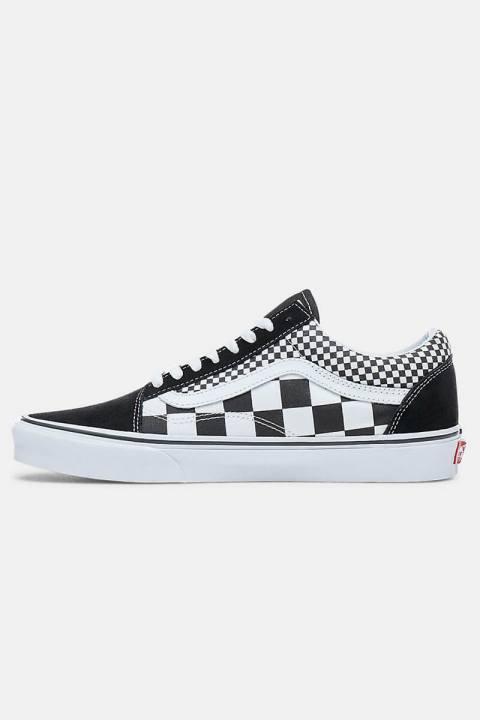 Køb Vans Old Skool Mix Checker Sneakers Black/True