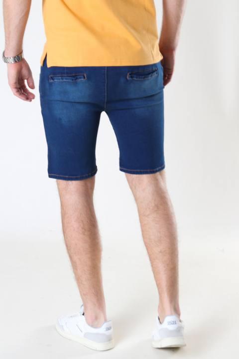 Denim project DPJogg shorts 043 Dark blue