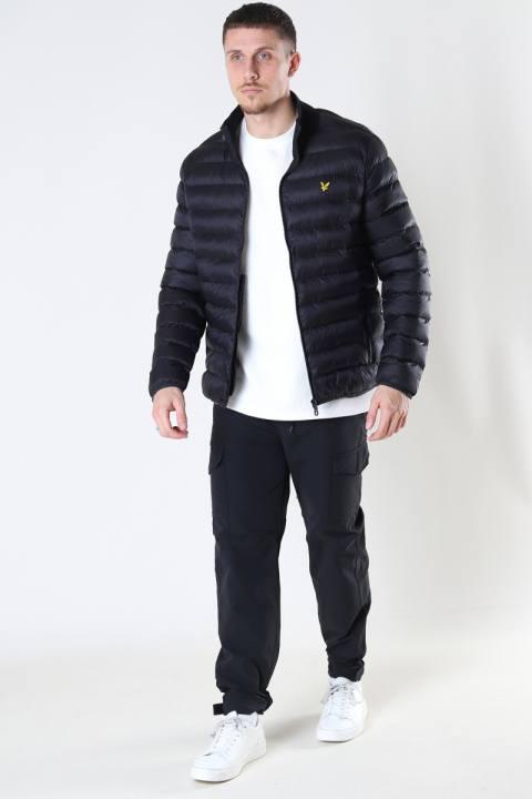 Lyle & Scott Packable Puffer Jacket Jet Black