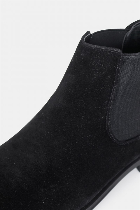 LVL Chelsea Boots Suede Black
