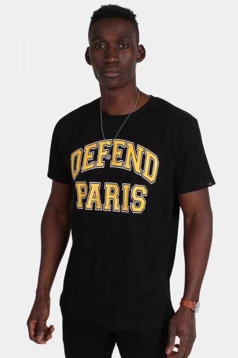 Køb Defend Paris 92 Tees T-shirt Black