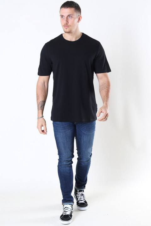 Only & Sons Millenium Life Reg SS T-shirt Pique Black