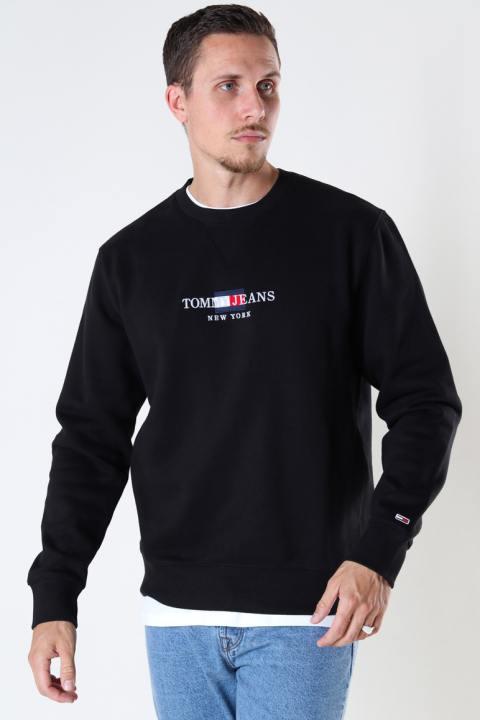 Tommy Hilfiger TJM TIMELESS TOMMY CREW Black