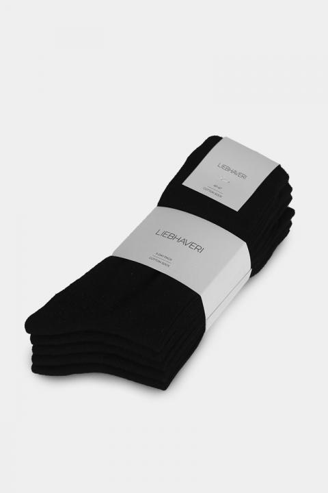 Liebhaveri Strømpe 5-pack Sort