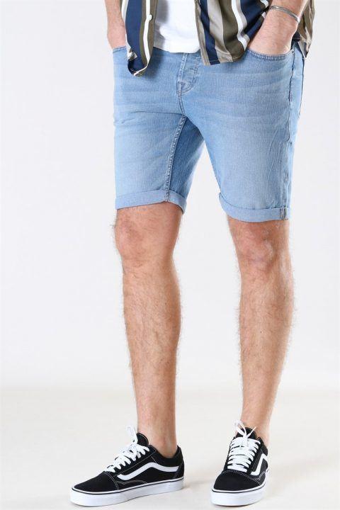 Only & Sons Ply PK 5142 Shorts Blue Denim