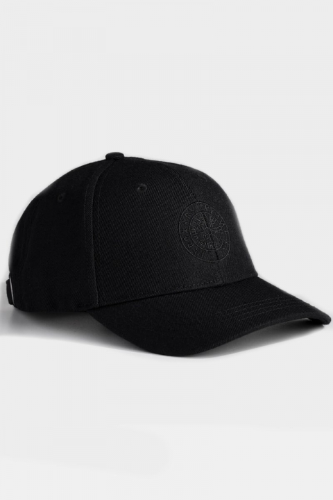 Image of Northern Legacy Vegvisir Cap Black/Black (1566290338-ONE_SIZE)