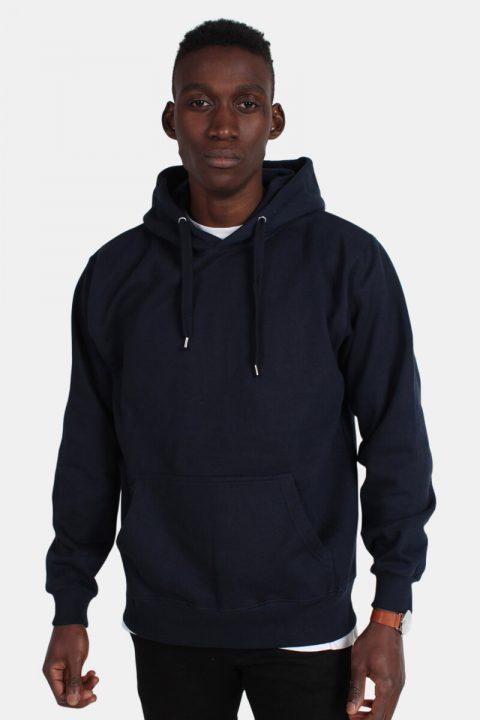 Bilde av Basic Brand Hooded Genser Blue Navy