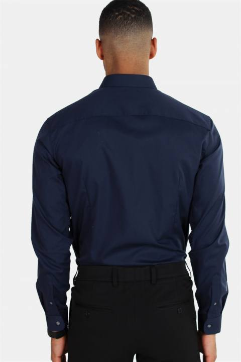 Jack & Jones Non Iron Skjorte L/S Navy Blazer