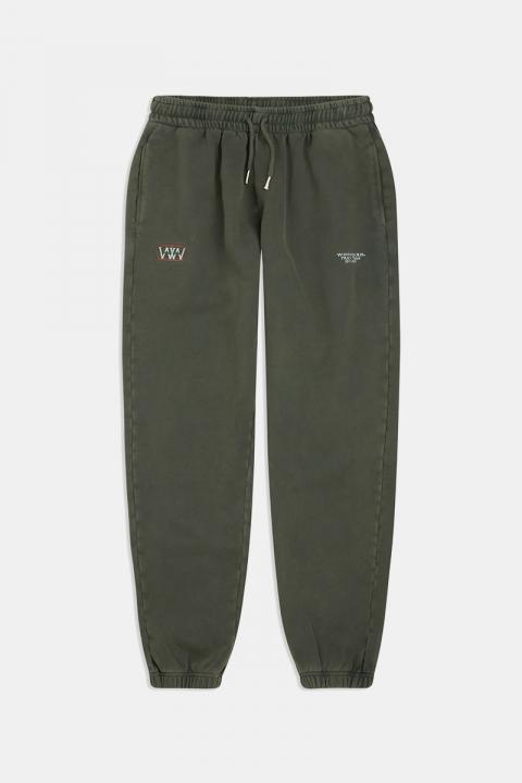 Woodbird Kope Team Sweatpants Army Green