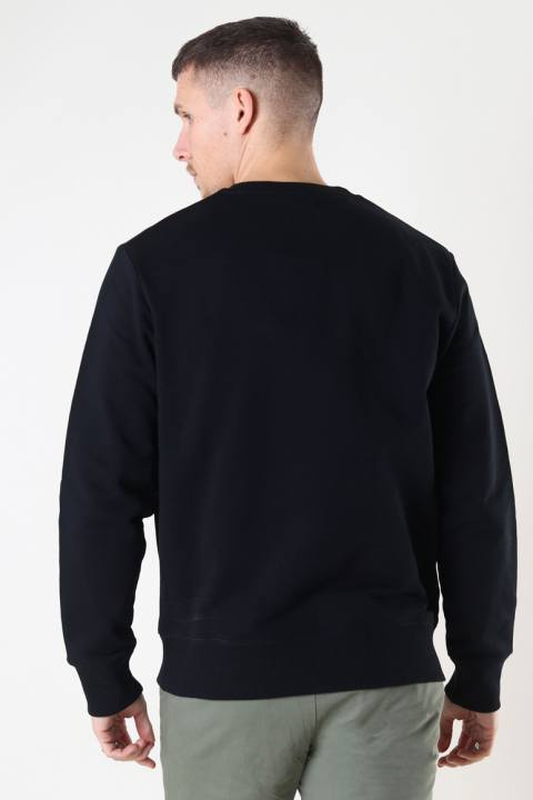 Fred Perry EMBROI SWEATSHIRT 102 Black