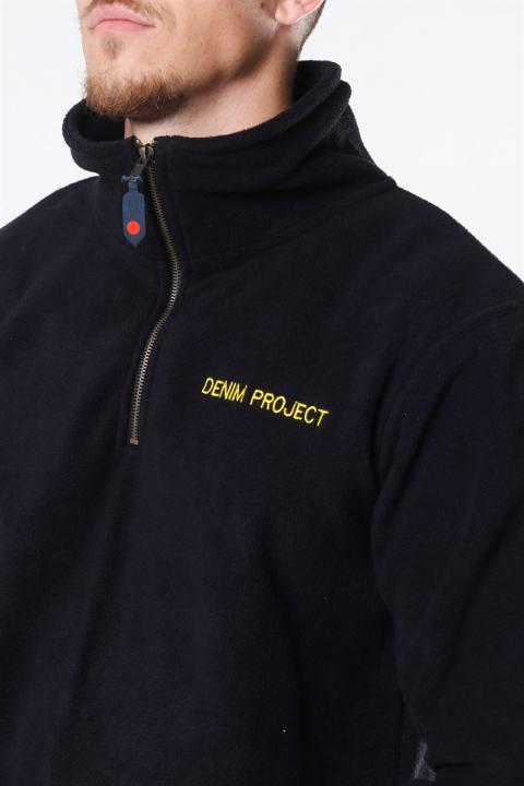 Denim Project Petit Zip Fleece