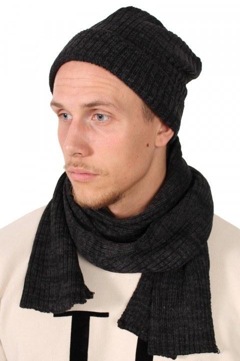 Køb Urban Classics Hue Tørklæde Sæt Charcoal