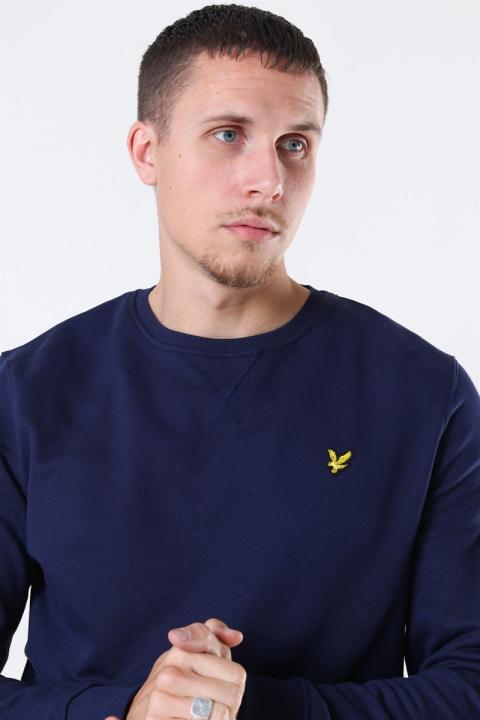Lyle & Scott Crew Neck Sweatshirt Navy