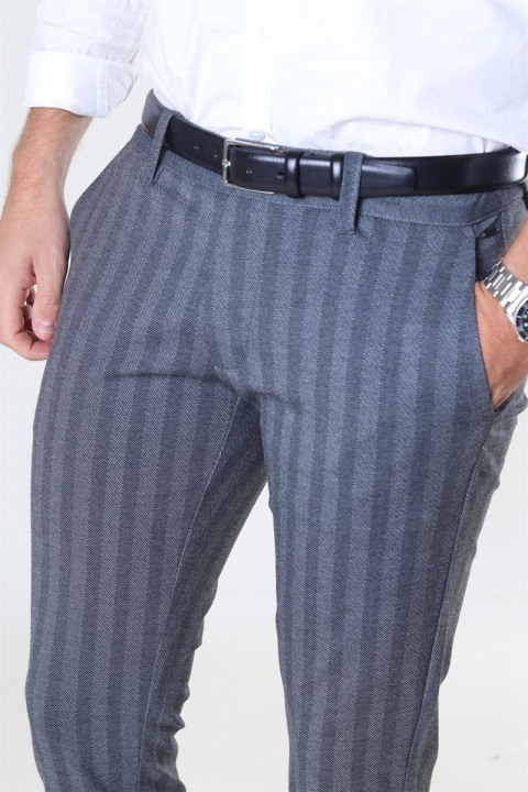 Only & Sons Mark Kamp Tap Pants Medium Grey Melange