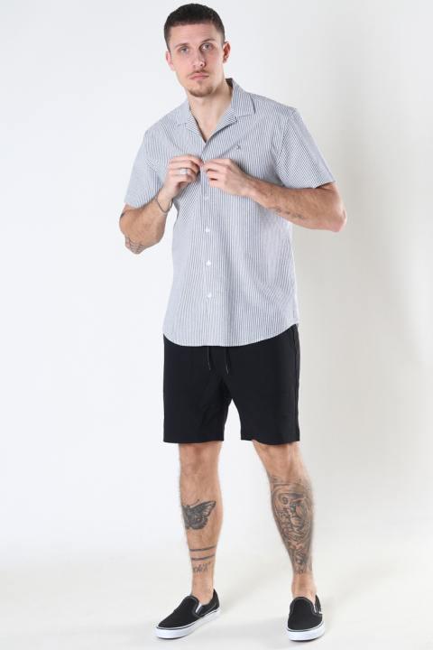 Just Junkies Lemo Shorts Ribstop 001 - Black