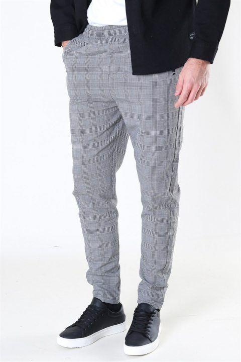 Køb Denim Project Suit Check Pant Grey Check