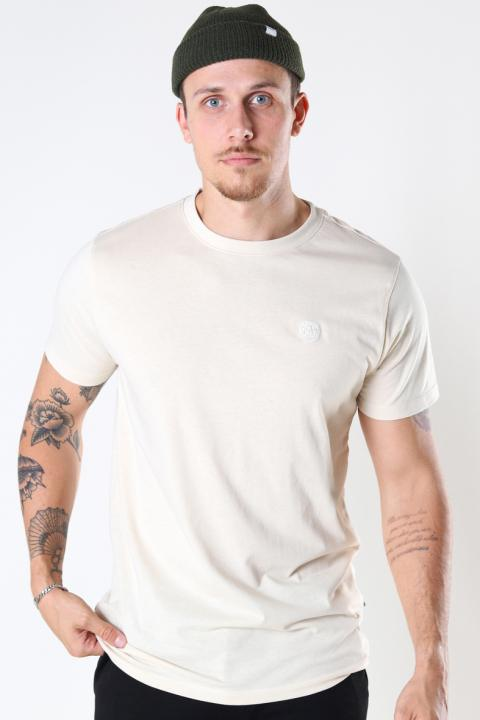 Kronstadt Timmi Organic/Recycled tee Off White