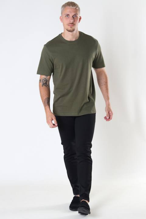 ONLY & SONS ONSMILLENIUM LIFE REG SS TEE NOOS Olive Night