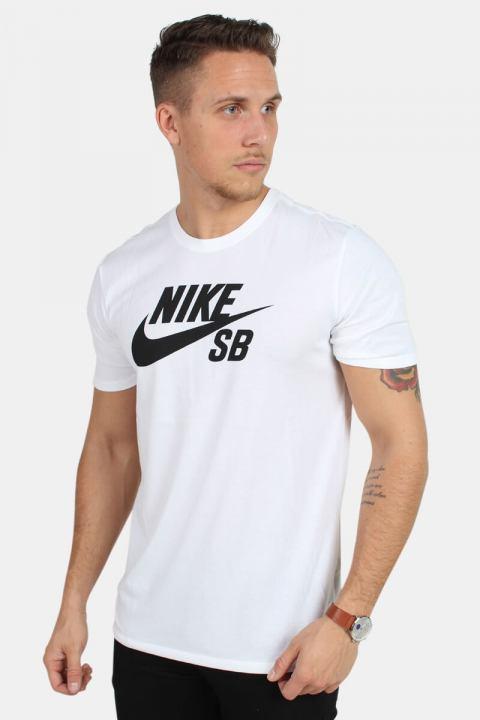 Køb Nike SB 821946 Pl A Roul T-Shirt White