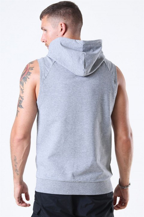 Basic Brand Sport Hoodie Zip SL Oxford Grey