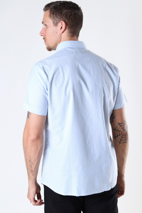 Selected SLHREGRICK-OX FLEX SHIRT SS W Skyway Stripes