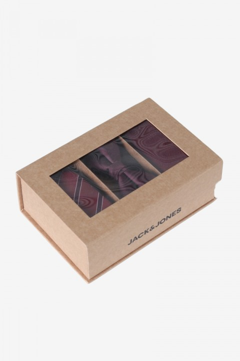 Jack & Jones JACNECKTIE GIFT BOX POLY Port Royale