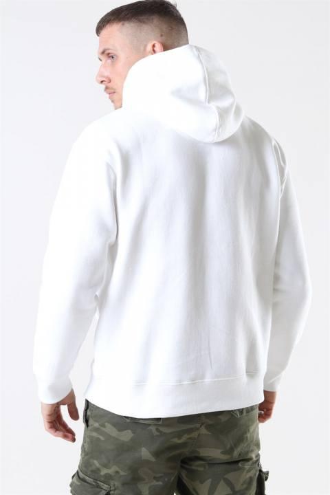 Jack & Jones Soft Sweat Hood White