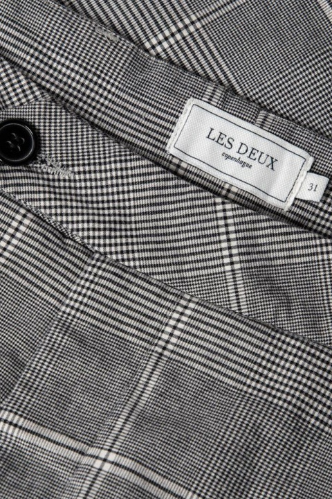 Les Deux Lugano Shorts Grey/Black