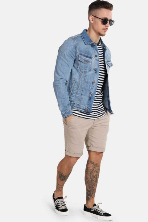 Jack & Jones Alvin Denim Jakke SA 002 Noos Blue Denim
