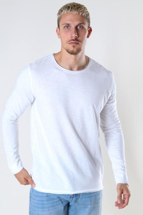 Gabba Konrad LS Straight Tee White