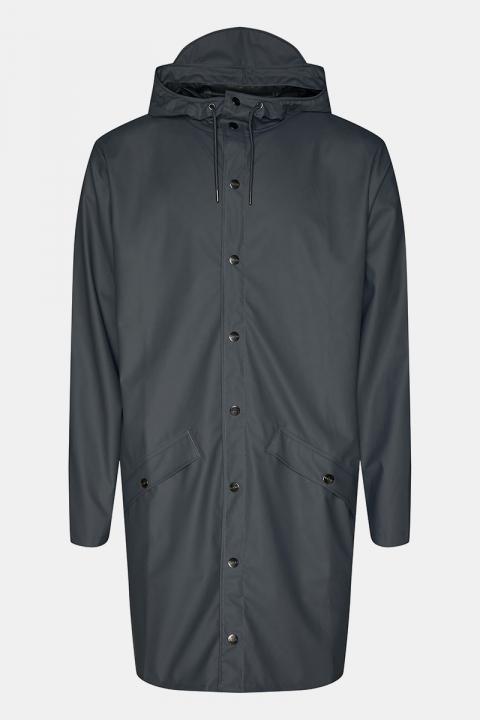 Rains Long Jacket 05 Slate
