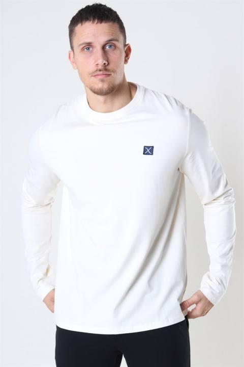 Køb Clean Cut Basic Organic T-shirt LS Ecru