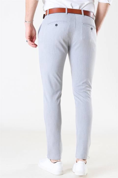 Tailored & Originals Frederic Pants Light Grey Melange