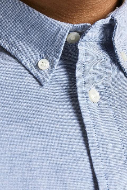 Jack & Jones JPRBLUBROOK OXFORD SHIRT L/S NOOS Cashmere Blue SLIM FIT