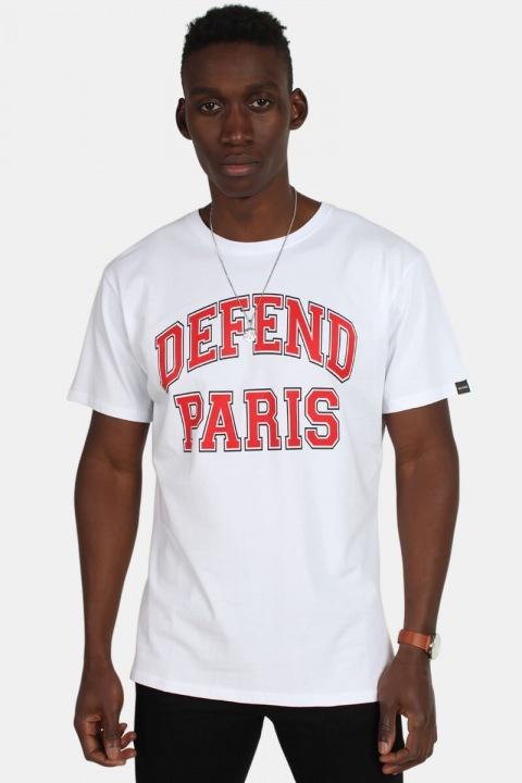 Køb Defend Paris 92 Tees T-shirt White