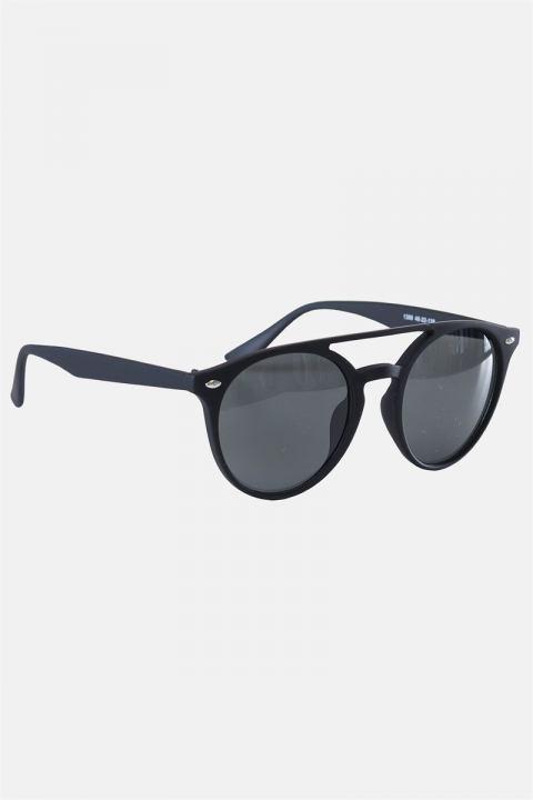 Køb Fashion 1388 Mat Black Solbrille Grey Linse