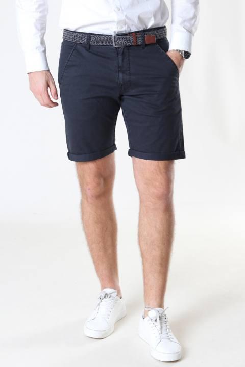 JEFF Louis Black Shorts inkl. bælte