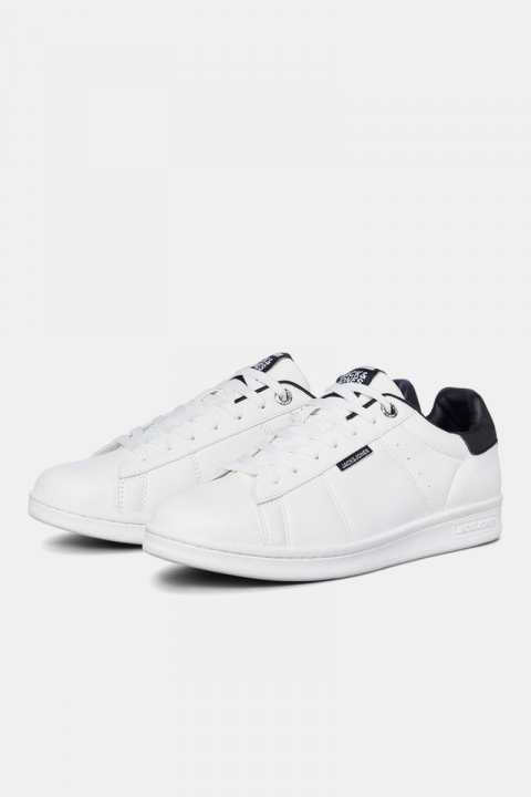 Jack & Jones Banna PU Sneakers White/Anthracite