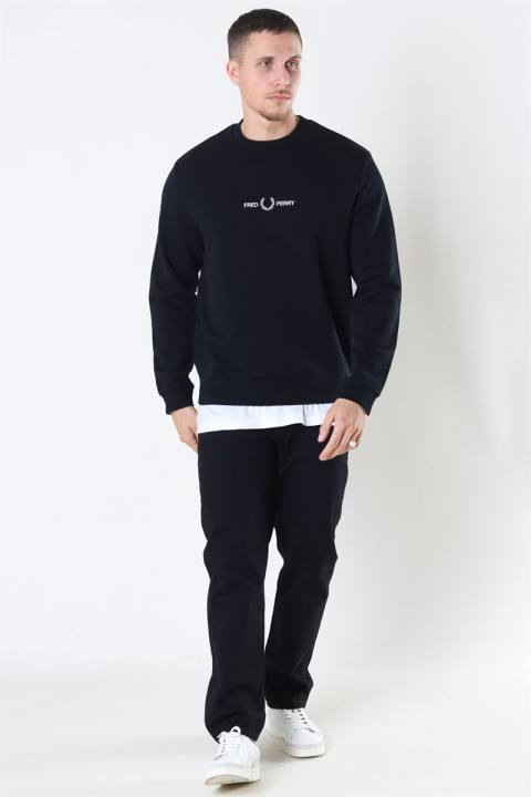 Fred Perry Graphic Sweatshirt 102 Black