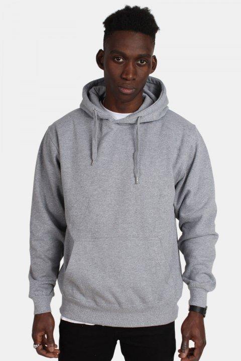 Bilde av Basic Brand Hooded Genser Oxford Grey