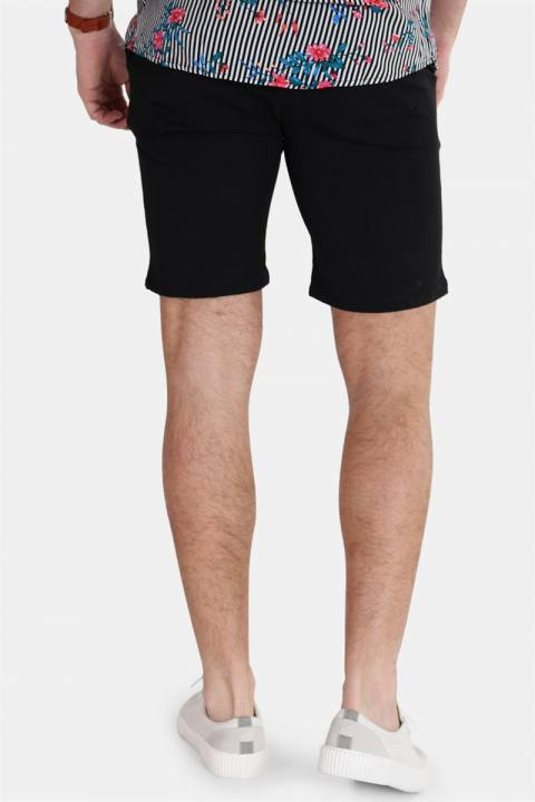 WoodBird Steffen Twill Shorts Black