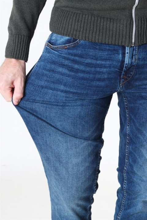 Solid Joy Jeans Mid Blue