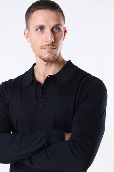 Jeff Acheletta Polo Strik Black