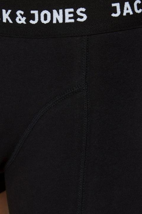Jack & Jones JACHUEY TRUNKS 7 PACK NOOS Black Blacak - Black - Black - Black - Black - Black