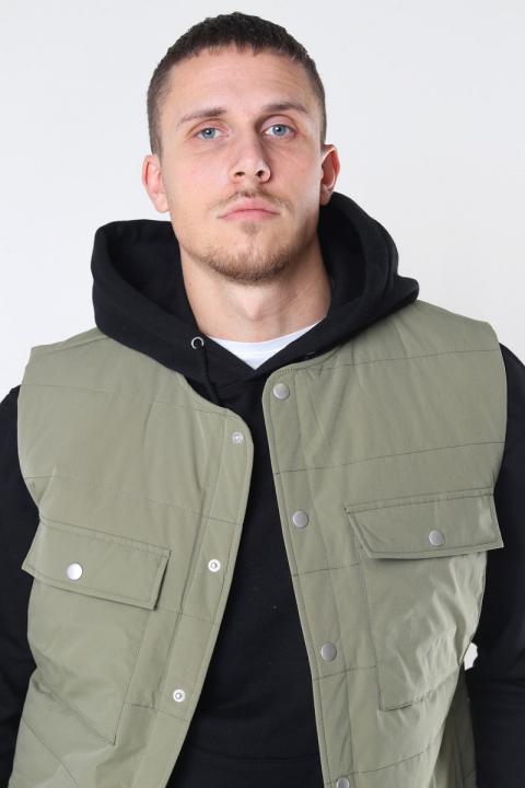 Just Junkies Maso Vest  Green