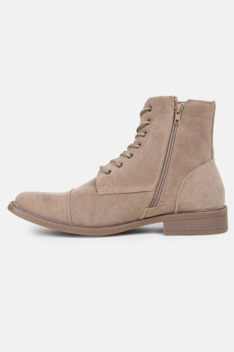 Boots Suede Taupe