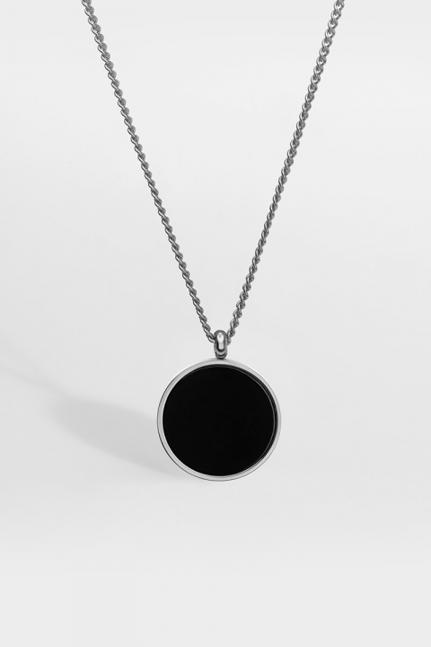 Northern Legacy Black Onyx Halskæde Silver