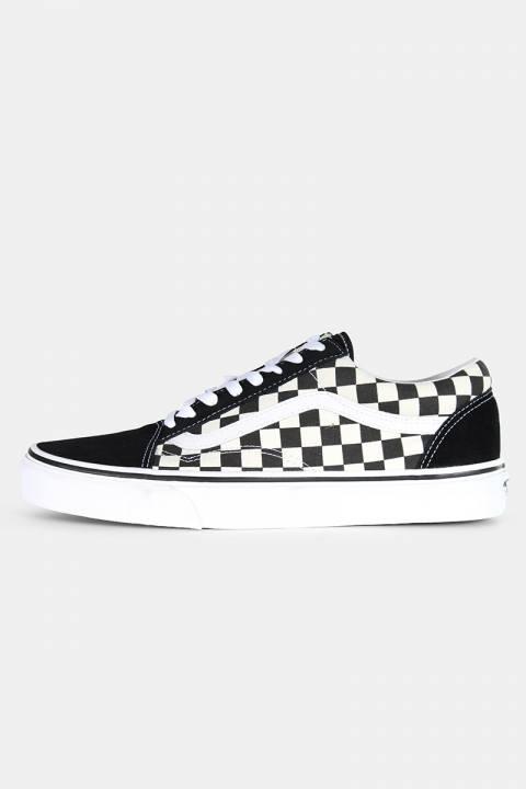 Køb Vans Old Skool Primary Check Sneakers Black/White