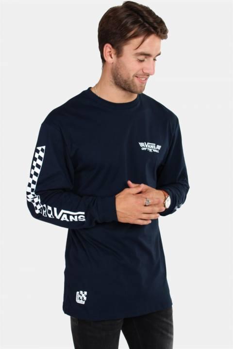 Køb Vans Crossed Sticks LS T-shirt Navy